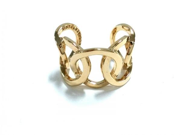 PHILIPPE AUDIBERT(フィリップオーディベール) リング美品  金属素材 ゴールド