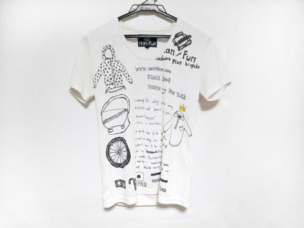 narifuri(ナリフリ) 半袖Tシャツ サイズ1 S レディース 白×黒