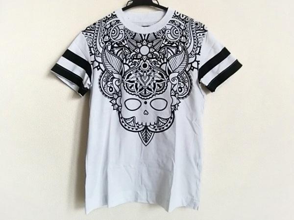 ハイドロゲン 半袖Tシャツ サイズXXS XS レディース 白×黒 SPORTSWEAR/スカル