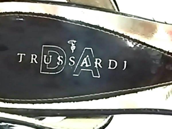 トラサルディー パンプス 23 レディース美品  ダークブラウン エナメル(レザー)