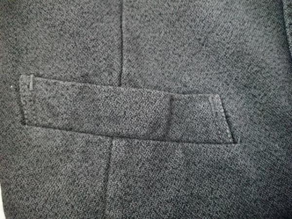 キミノリモリシタ ベスト サイズ4/46 メンズ グレー×黒 ダメージ加工
