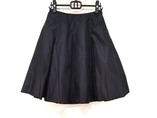 TADASHI(タダシ) スカート サイズ4 XL レディース 黒 シルク
