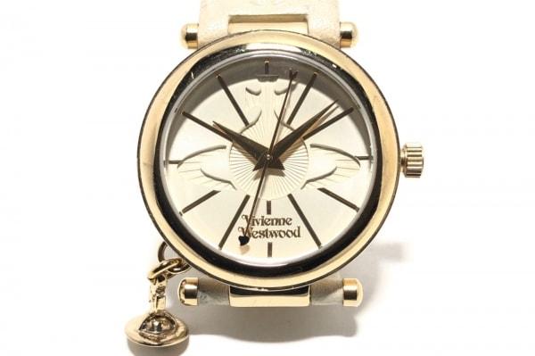 VivienneWestwood(ヴィヴィアン) 腕時計 VV006WHWH レディース 革ベルト アイボリー