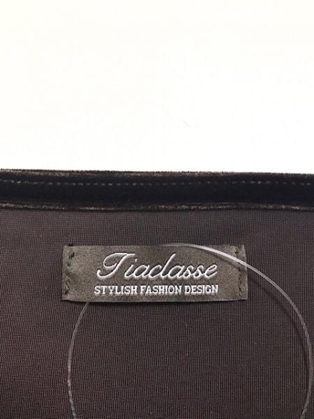 Tiaclasse(ティアクラッセ) 長袖カットソー サイズM レディース美品  ダークブラウン
