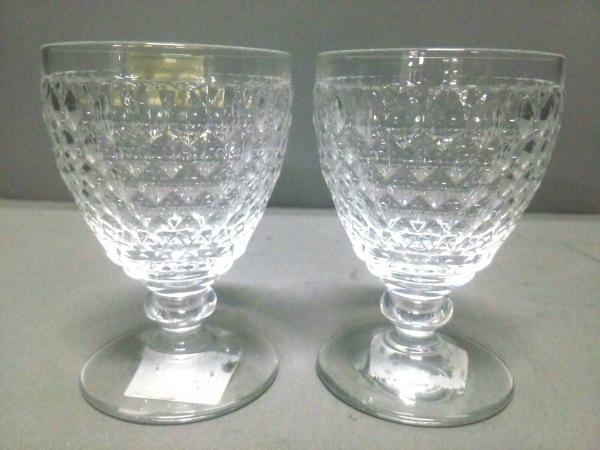 Villeroy&Boch(ビレロイ&ボッホ) ペアグラス新品同様  クリア ガラス