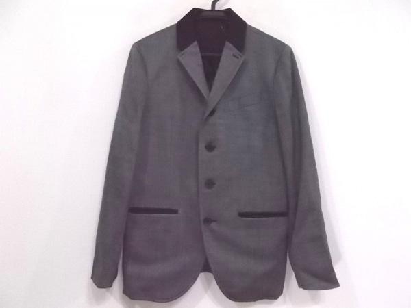 ジーヒステリック トリプルエックス ジャケット サイズM メンズ ダークグレー×黒
