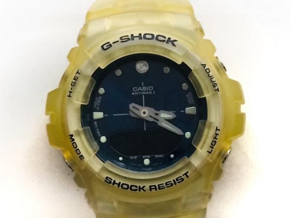 CASIO(カシオ) 腕時計 G-SHOCK G-100K メンズ ネイビー