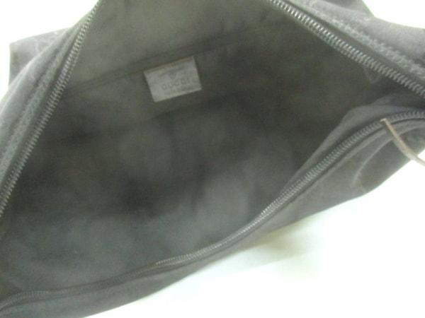 GUCCI(グッチ) ショルダーバッグ GG柄 0013380 黒 ナイロン×レザー
