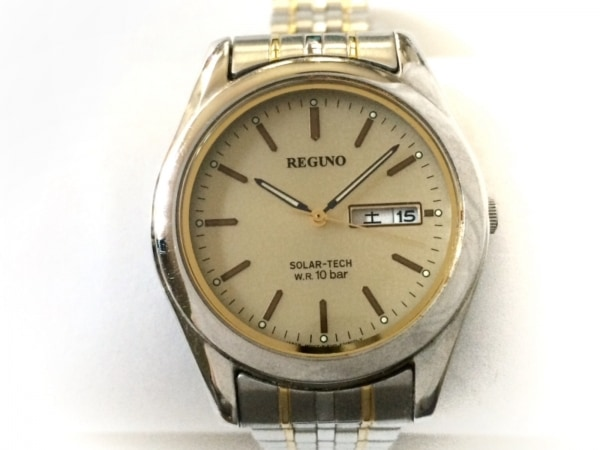 REGUNO(レグノ) 腕時計 E101-K005299 メンズ アイボリー