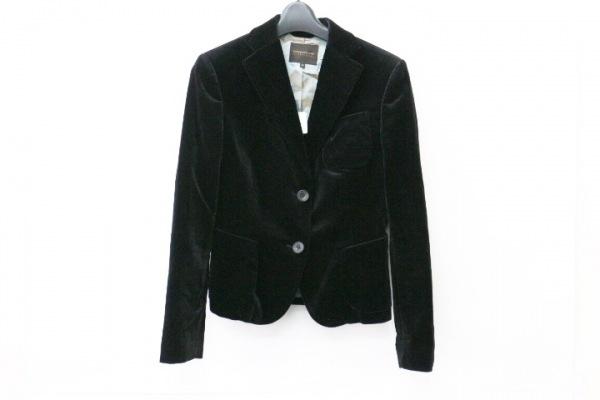 トゥモローランド ジャケット サイズ38 M レディース 黒 ベロア/collection