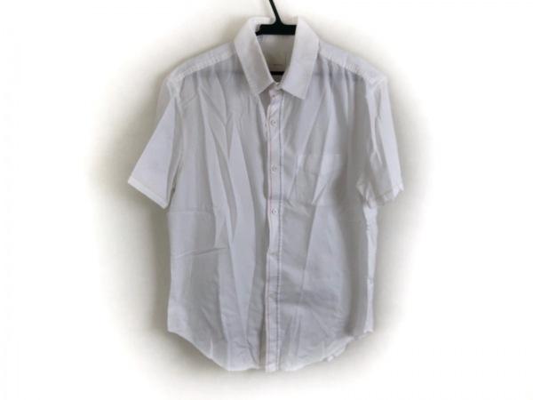 バンドオブアウトサイダーズ 半袖シャツ サイズ3 L メンズ美品  白