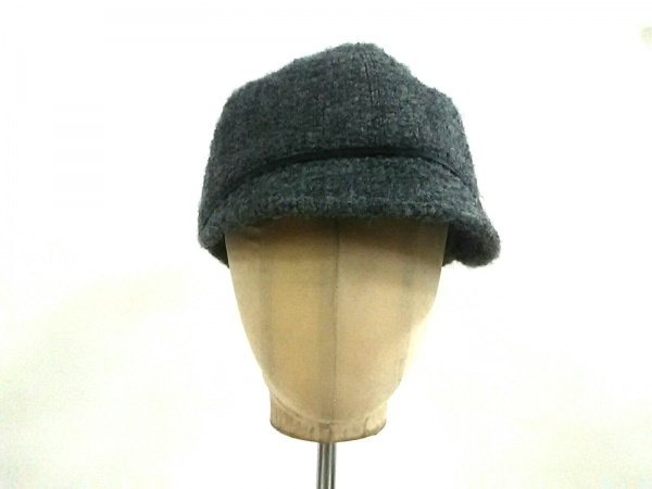 EugeniaKim(ユージニアキム) 帽子美品  グレー ウール×アルパカ