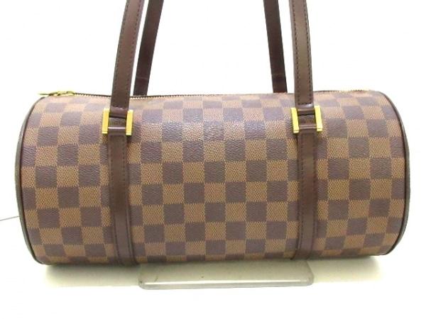 ルイヴィトン ハンドバッグ ダミエ美品  パピヨン30 N51303 エベヌ ダミエ・キャンバス