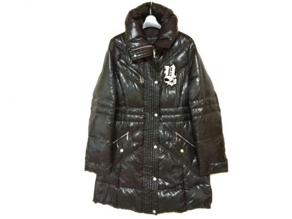 VALENZA(バレンザ) ダウンコート サイズ40 M レディース美品  黒×シルバー