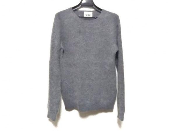 Acne(アクネ) 長袖セーター サイズXS レディース グレー