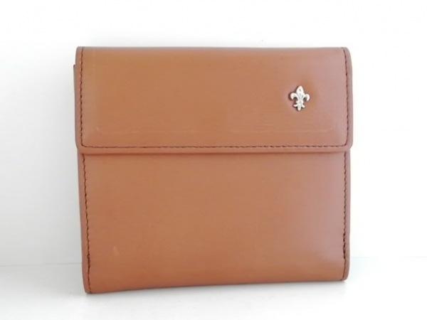 PATRICK COX(パトリックコックス) 2つ折り財布美品  ブラウン レザー