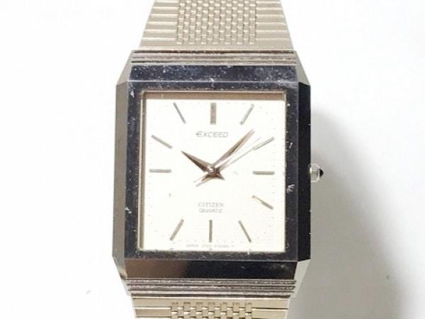 CITIZEN(シチズン) 腕時計 EXCEED 2730-271874 レディース アイボリー