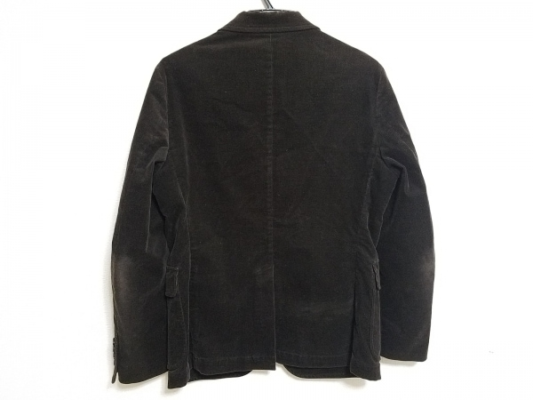 ビームスライツ ジャケット サイズ44 L メンズ ダークブラウン コーデュロイ