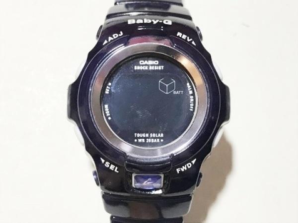CASIO(カシオ) 腕時計美品  Baby-G BGR-290 レディース ラバーベルト 黒