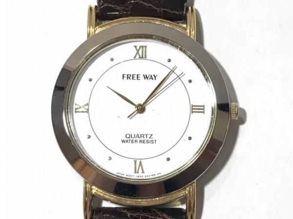 CITIZEN(シチズン) 腕時計 FREE WAY 1032-A42713 レディース 社外ベルト 白