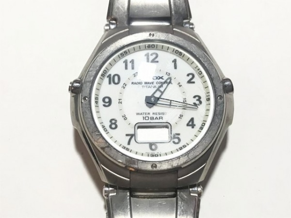 ALBA(アルバ) 腕時計 ROOX P104-0AB0 メンズ 白