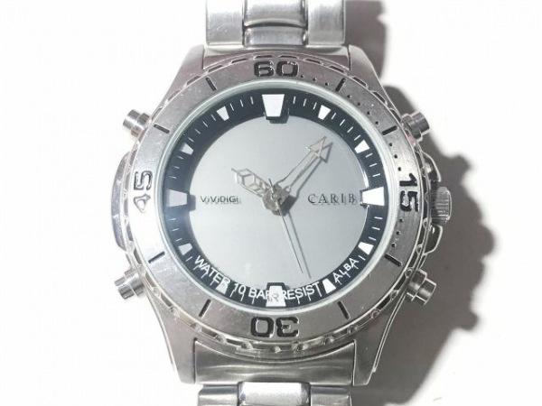 ALBA(アルバ) 腕時計 CARIB NX03-0A40 メンズ グレー