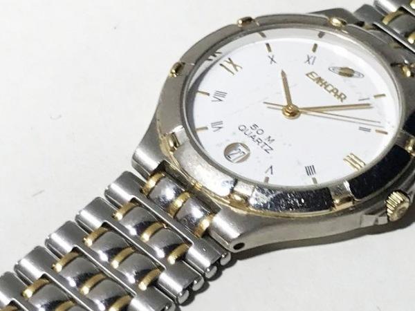 ENICAR(エニカ) 腕時計 955.387 メンズ 白
