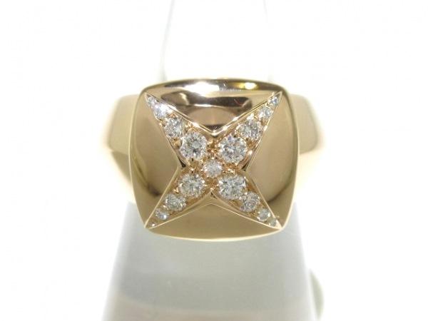 MAUBOUSSIN(モーブッサン) リング 49美品  K18YG×ダイヤモンド