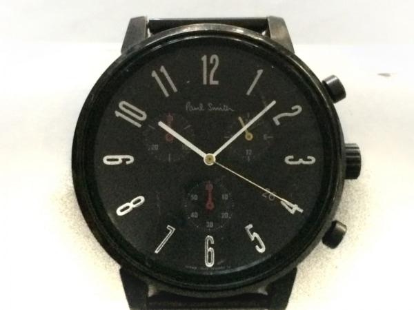 PaulSmith(ポールスミス) 腕時計 J505-T021310 メンズ クロノグラフ 黒