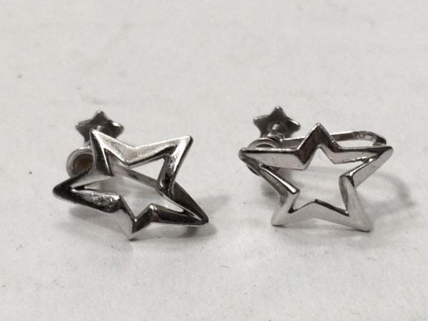STAR JEWELRY(スタージュエリー) イヤリング美品  K18WG スター