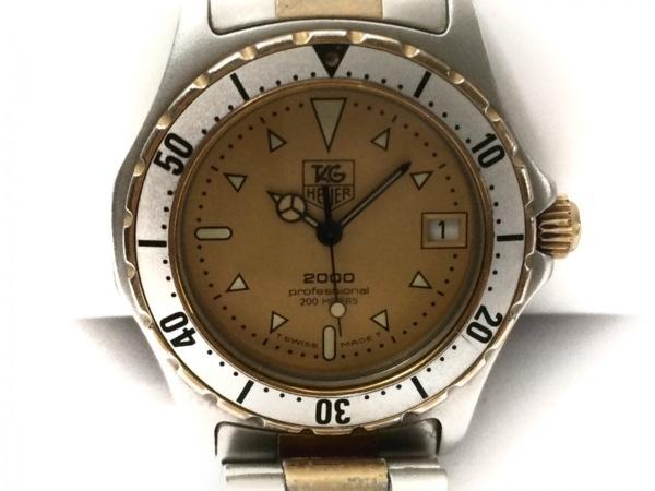 タグホイヤー 腕時計 プロフェッショナル200 - レディース チタン イエロー