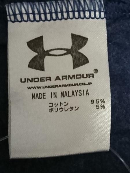 UNDER ARMOUR(アンダーアーマー) タンクトップ メンズ美品  ネイビー×白×マルチ