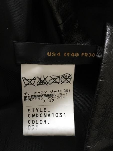 ダナキャランシグネチャー コート サイズ9 M レディース 黒 春・秋物