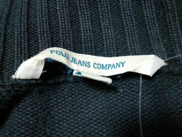 Polo Jeans(ポロジーンズ) ブルゾン サイズM レディース美品  黒 ジップアップ