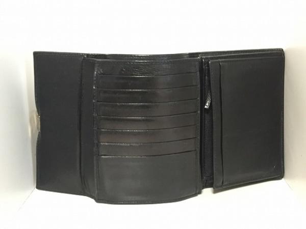 f6c8855fb7ba GUCCI(グッチ) 3つ折り財布 - - 黒 レザー(13597914)中古|ブランド ...