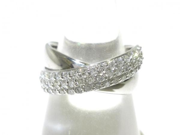 PonteVecchio(ポンテヴェキオ) リング美品  K18WG×ダイヤモンド 0.51カラット