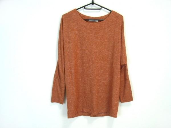 VALMAN(バルマン) 長袖セーター サイズM レディース美品  ライトブラウン