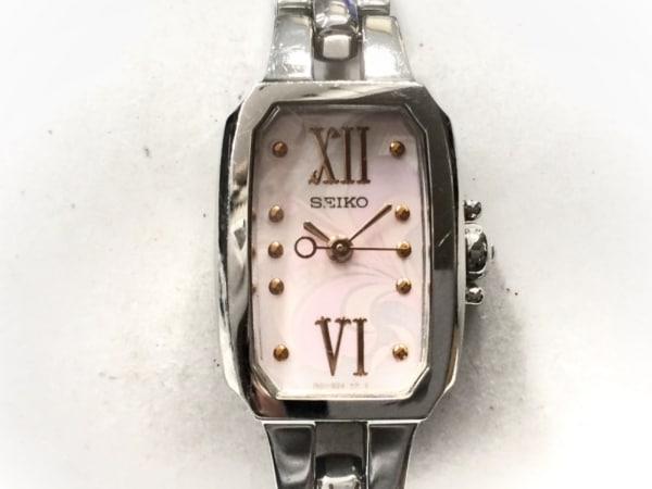SEIKO(セイコー) 腕時計 1N01-0PD0 レディース ピンク