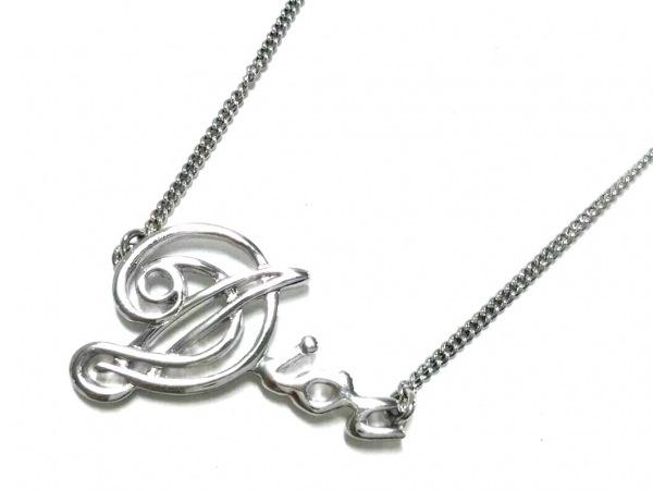 ChristianDior(クリスチャンディオール) ネックレス美品  金属素材 シルバー