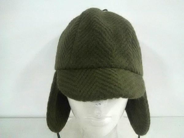 EugeniaKim(ユージニアキム) 帽子美品  ダークグリーン ウール