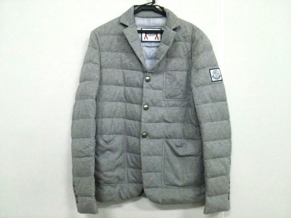 MONCLER(モンクレール) ダウンジャケット サイズ1 S メンズ - グレー