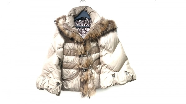 Adonisis(アドニシス) ダウンジャケット サイズF レディース美品  グレー 冬物