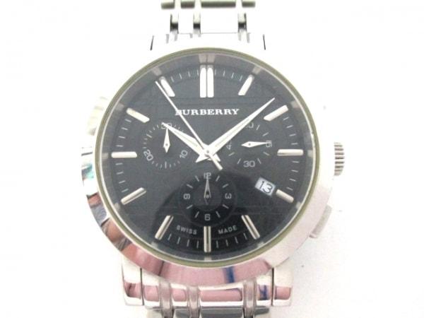 Burberry(バーバリー) 腕時計 ヘリテージ BU1366 メンズ クロノグラフ 黒