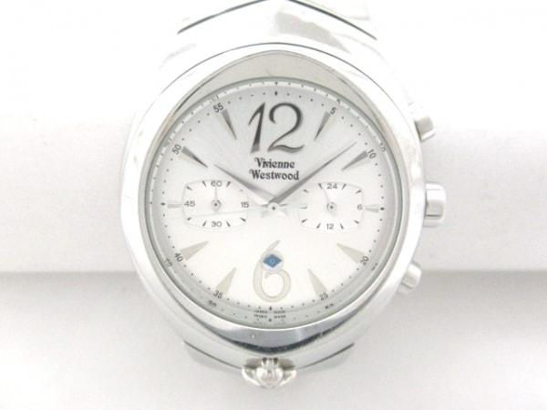 VivienneWestwood(ヴィヴィアン) 腕時計 VW-2048 メンズ クロノグラフ シルバー
