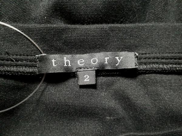 theory(セオリー) ワンピース サイズ2 S レディース新品同様  黒