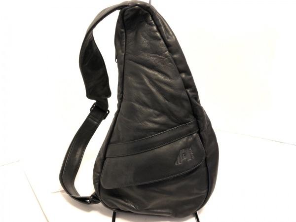 AmeriBag(アメリバッグ) ワンショルダーバッグ美品  黒 レザー