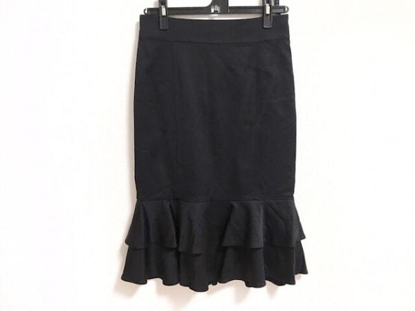 MATERIA(マテリア) スカート サイズ38 M レディース美品  黒 フリル