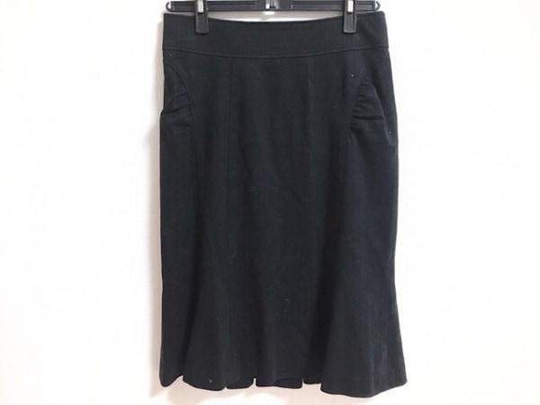 MATERIA(マテリア) スカート サイズ38 M レディース美品  黒 ストライプ