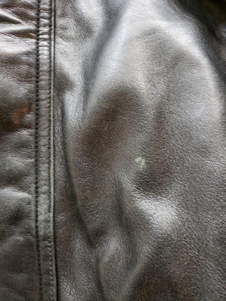 ROBERTO MASSINI(ロベルトマッシーニ) ブルゾン サイズM メンズ 黒 レザー/冬物