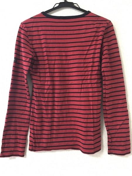 LOVELESS(ラブレス) 長袖Tシャツ サイズ34 S レディース美品  レッド×黒 ボーダー